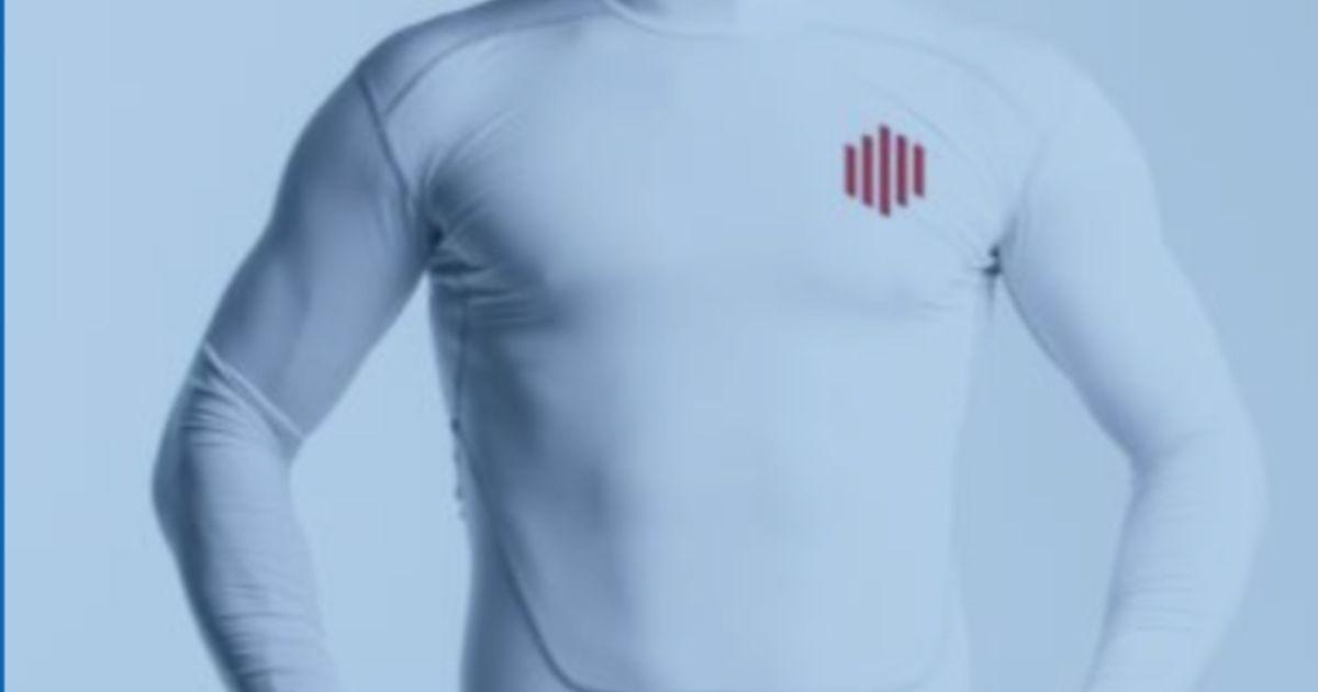 Arriva la t-shirt intelligente che funziona con il 5G