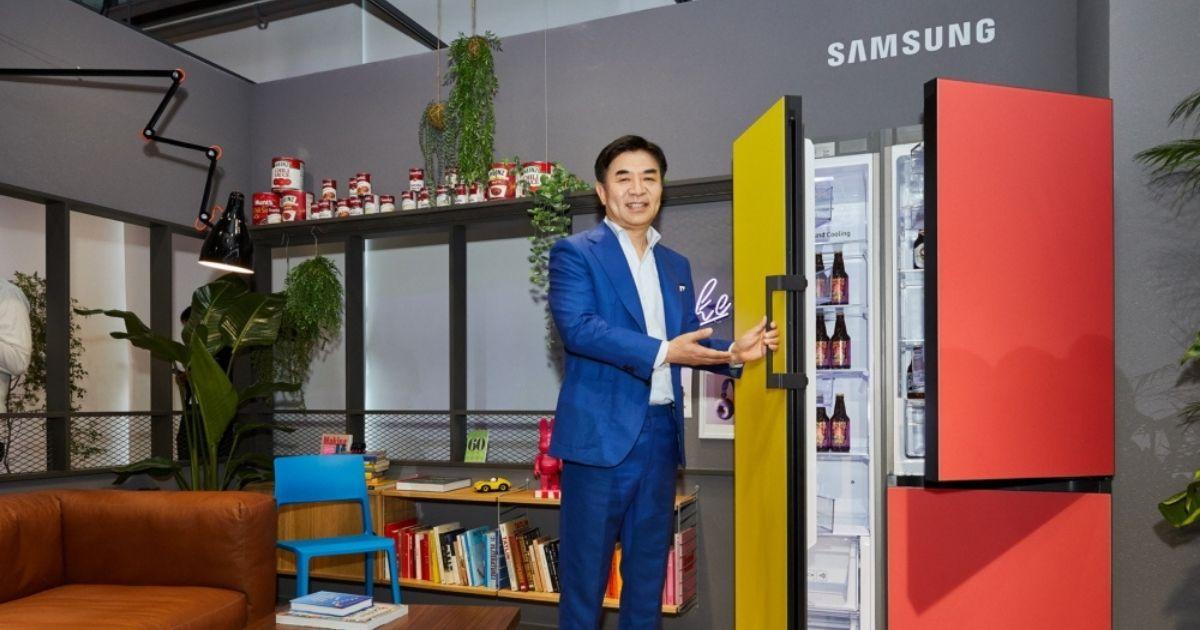 Cucina sempre più integrata con il living: ecco #BESPOKE di Samsung